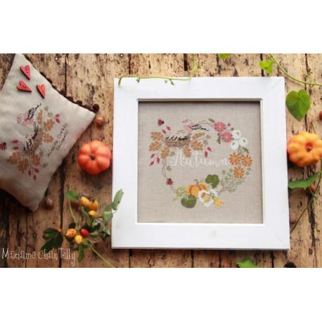 Autumn garland. Madame Chantilly