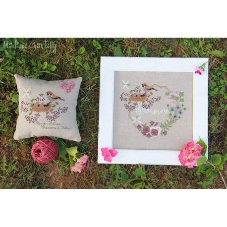 Summer garland. Madame Chantilly 170
