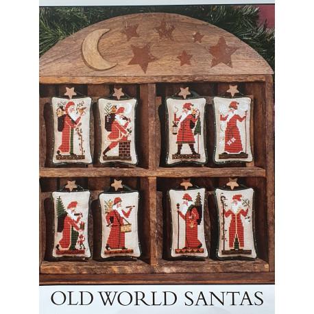 Old World Santas. TPS080